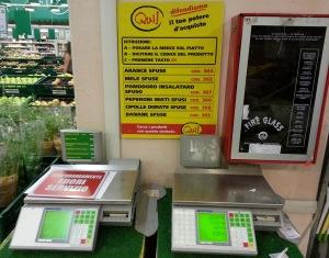 Nuove bilance Auchan